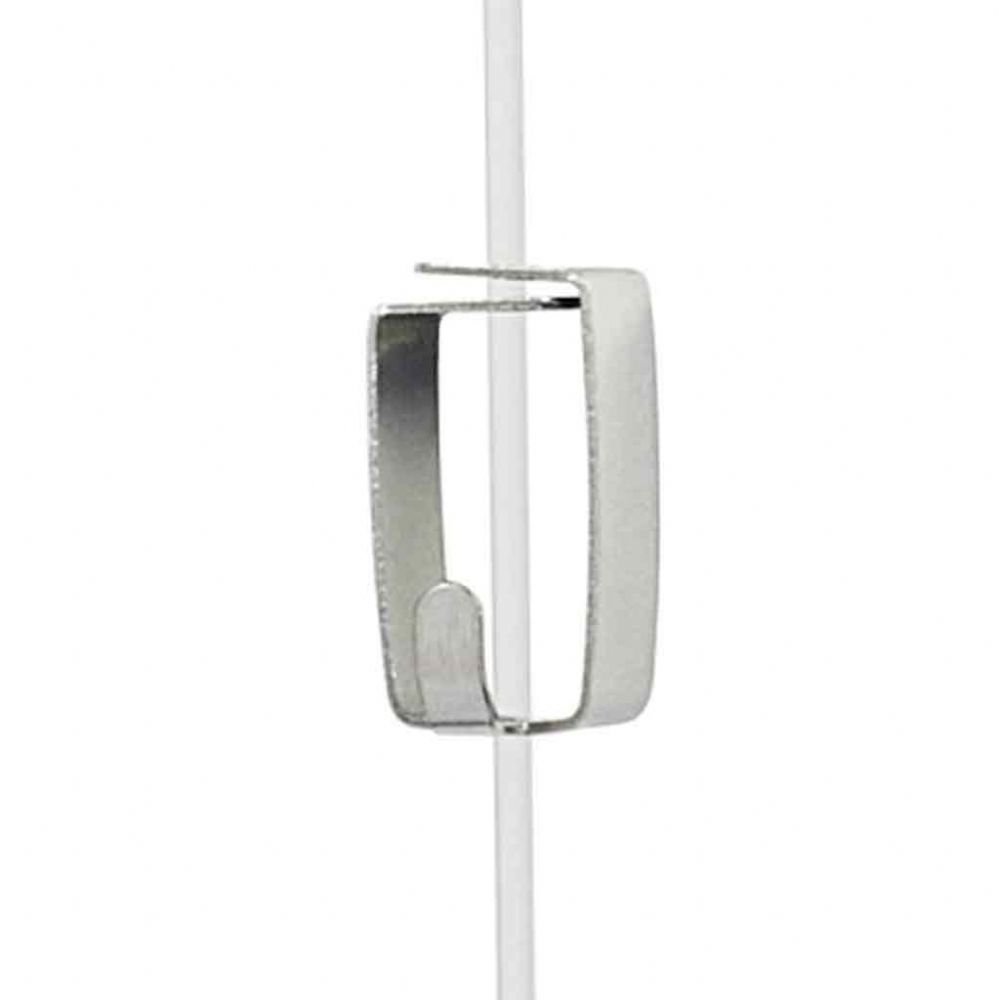 Smart Spring Hook for Picture Rail Perlon Suspender Cables